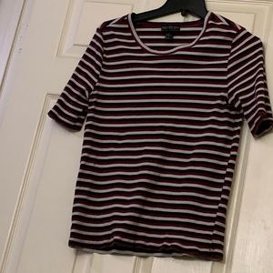 *PLUS SIZE* STRIPPED TOP
